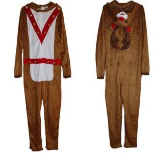 Men's Reindeer Bells Costume
